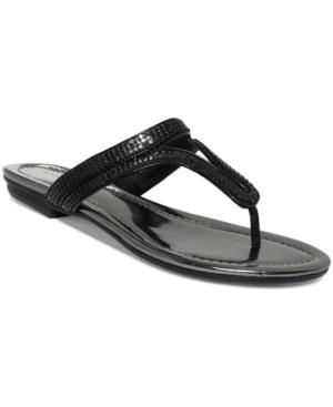Bandolino Ronan Flat Thong Sandals Women's Shoes