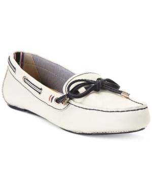 Tommy Hilfiger Ravelin Moc Flats Womens Shoes