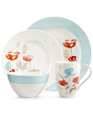 Lenox Poppy Street Bay 4 Piece Place Setting