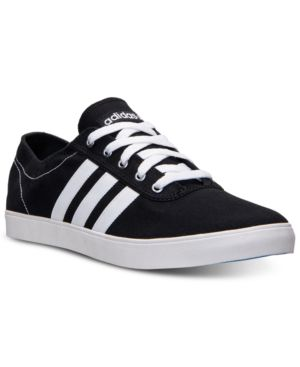 adidas Men's Neo Easy Vulc Ad Shoe Black White