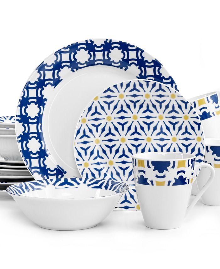 Oneida - Blue Capella 16-Piece Set
