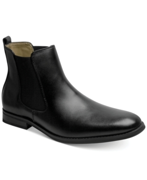 Bass Amsterdam Chelsea Gore Boots Mens Shoes $79.00 AT vintagedancer.com