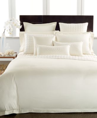 Hotel Collection 600 Thread Count Egyptian Cotton Ivory Standard Sham