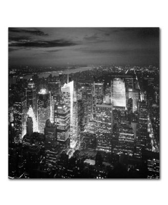 "'Times Square' Canvas Print by Nina Papiorek, 24"" x 24"""
