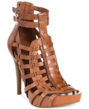 BCBGeneration Gemma Caged Platform Sandals Women's Shoes