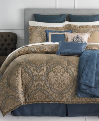 CLOSEOUT! Martha Stewart Collection Hampton 22 Piece Queen Comforter Set