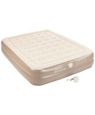 "Aerobed 2-Layer 14"" Queen Air Mattress with Handheld Pump"