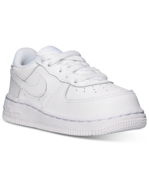 UPC 826218016196 product image for Nike Toddler Boys  Air Force 1 Low  Basketball Sneakers from ... 6b80a57523f3