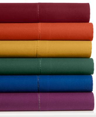 Charter Club Damask Jewel Tones 500 Thread Count Queen Sheet Set