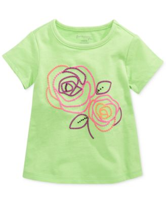 First Impressions Baby Girls' Flower Top