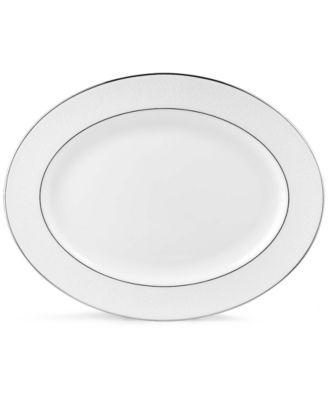 Lenox Hannah Platinum Large Oval Platter