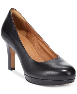 Clarks Artisan Women's Delsie Bliss Platform Pumps Women's Shoes