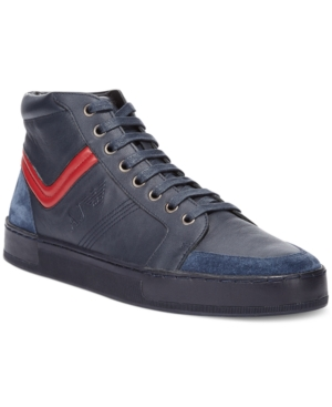 Armani Jeans Hi-Top Sneakers Mens Shoes
