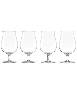 Lenox Tuscany Craft Beer Tulip Glasses, Set of 4