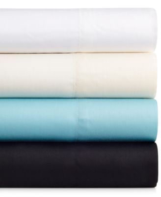 INC International Concepts Solid Ivory 100% Modal Queen Sheet Set