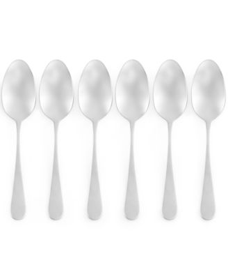 Martha Stewart Collection Everyday Entertaining Bartlett Set of 6 Teaspoons