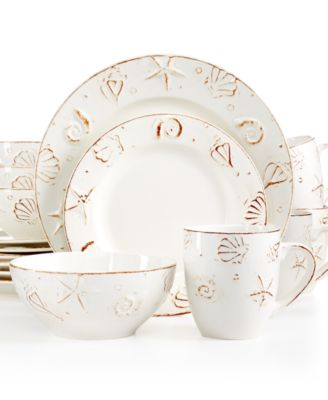 Thomson Pottery H&ton 16-Pc. Set Service for 4 ...  sc 1 st  international-luxury.com & Island style dinnerware for casual meals and relaxed entertaining.