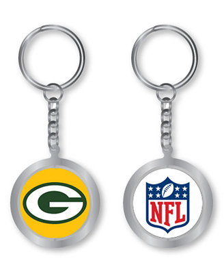 Aminco Green Bay Packers Spinning Keychain