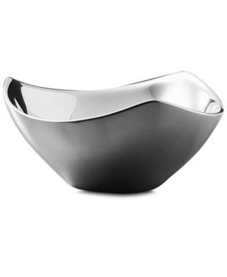 """Nambe 7.5"""" Tri-Corner Bowl"""
