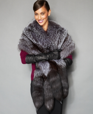 The Fur Vault Fox Fur Stole $1,557.00 AT vintagedancer.com