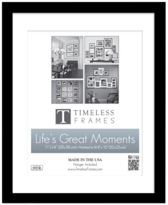 "Timeless Frames Picture Frame, Life's Great Moments Wall Frame 11"" x 14"""