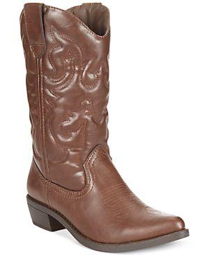 Rampage Valiant Cowboy Boots