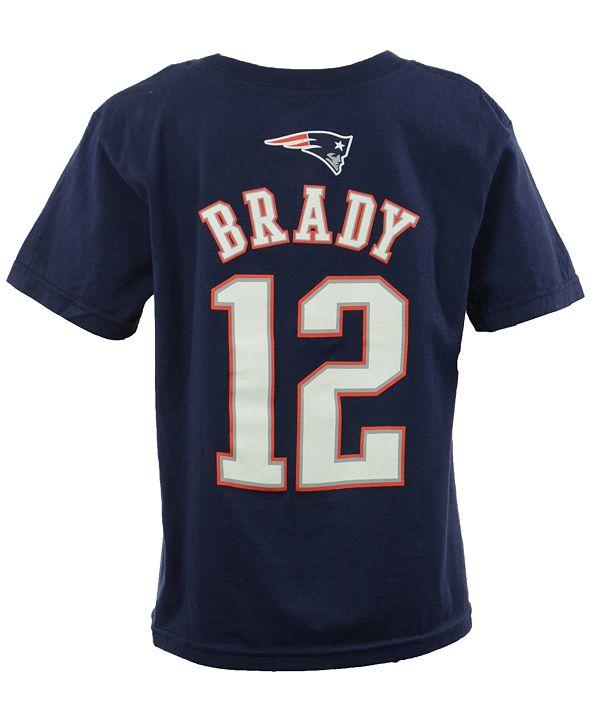 Outerstuff Toddler Boys' Tom Brady New England Patriots Mainliner Player T-Shirt