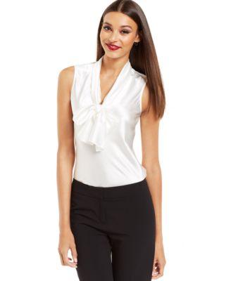 Sleeveless Blouses For Work | Fashion Ql