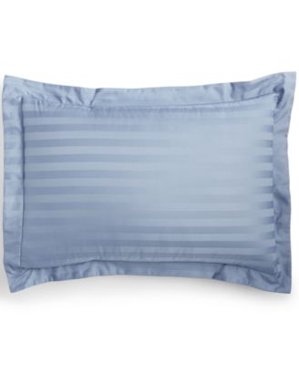 Charter Club Damask Stripe 500 Thread Count Pima Cotton Standard Sham, Only at Macy's