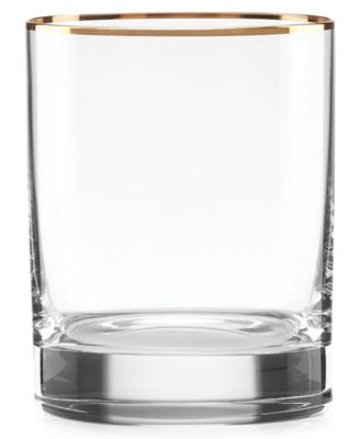 Lenox Timeless Gold Double Old Fashioned Glass