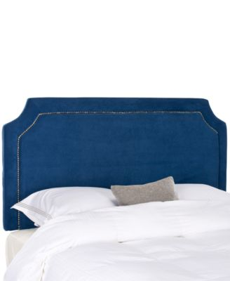Salina Upholstered Queen Headboard, Direct Ship