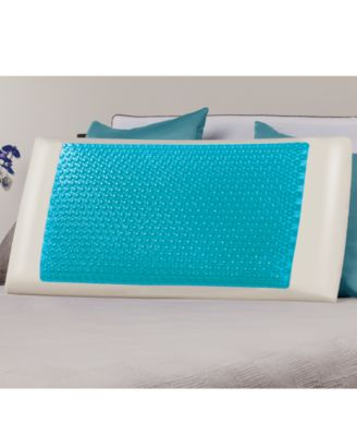Comfort Revolution Cool Comfort Hydraluxe Gel & Memory Foam King Pillow
