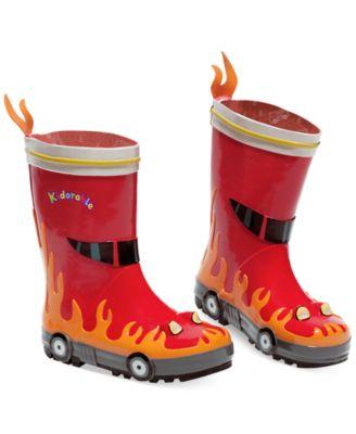 Kidorable Little Boys' Fireman Rain