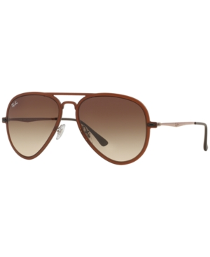 Ray-Ban Sunglasses, RB4211 Aviator Light Ray Ii