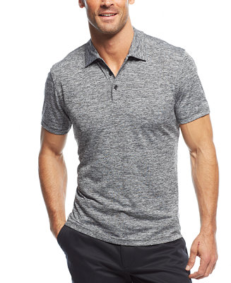 Alfani Men's Classic-Fit Ethan Performance Polo, Created for Macy's & Reviews - Polos - Men - Macy's
