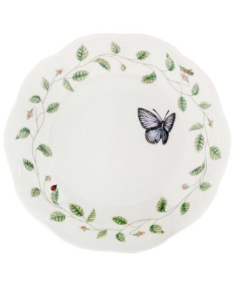 "Lenox ""Butterfly Meadow"" Pasta/Rim Soup Bowl"