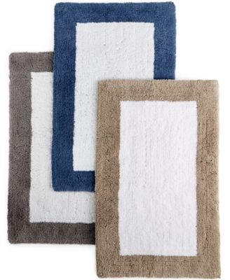 "CLOSEOUT! Hotel Collection Colorblock 22"" x 36"" Bath Rug, Only at Macy's"