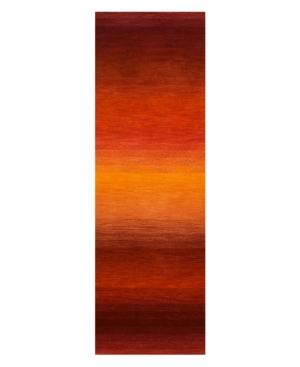"""Liora Manné """"Ombre"""" 9620/18 Stripe Sunrise Area Rug, 2' 6"""" x 7' 10"""""""