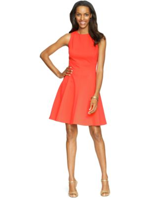 American Living Sleeveless A-Line Dress
