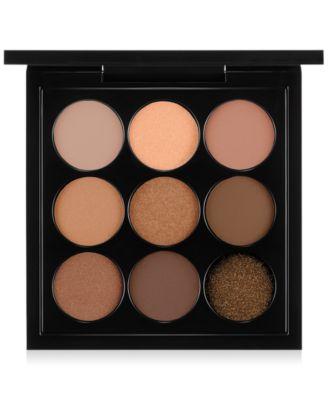 MAC Eye Shadow Palette, Amber x 9