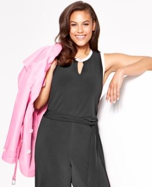 Lauren Ralph Lauren Plus Size Double-Breasted Trench Coat