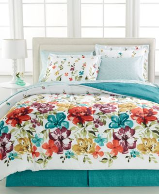 Haven 8 Piece Queen Bedding Ensemble