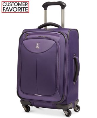 "Travelpro WalkAbout 2 21"" Expandable Spinner Carry On Suitcase"