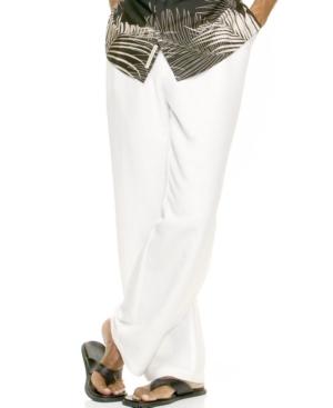 Cubavera Linen Drawstring Pant