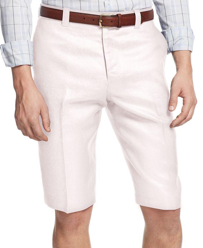 INC International Concepts - Smith Linen-Blend Shorts