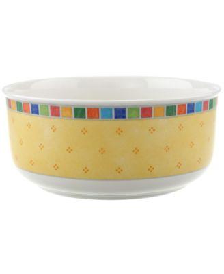 """Villeroy & Boch Dinnerware, Twist Alea Round Vegetable Bowl, 7 3/4"""""""