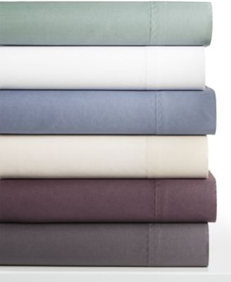 Calvin Klein Valencia Cotton 450 Thread Count Queen Sheet Set
