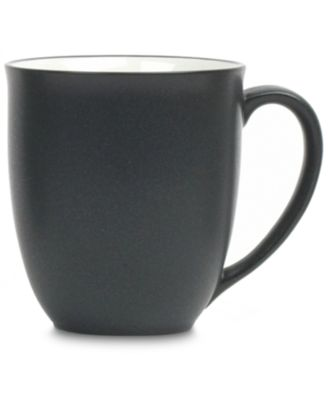 "Noritake ""Colorwave Graphite"" Mug, 12 oz"""