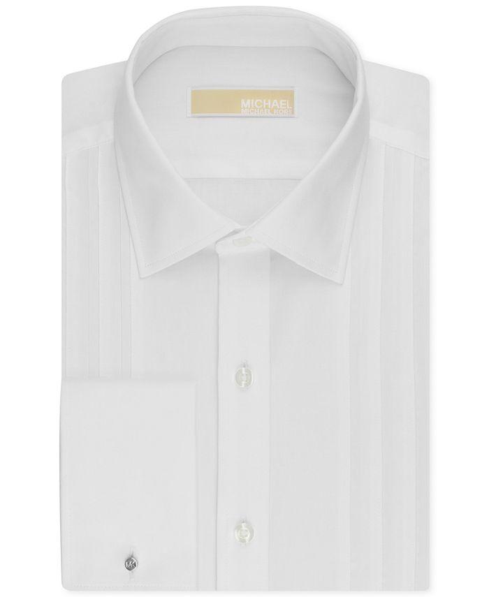 Michael Kors - Men's Classic-Fit French Cuff Tuxedo Shirt