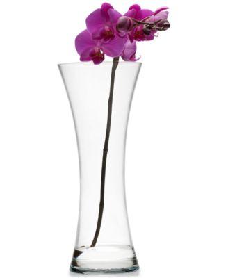 "Mikasa Laura Pinched Shape Vase, 11.75"""